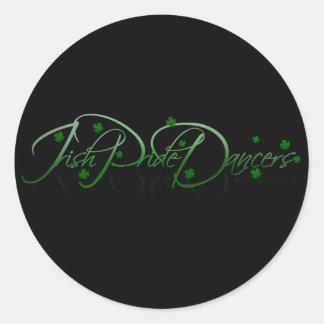 IPD Shamrock Round Sticker