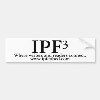 IPF³ Bumper Sticker