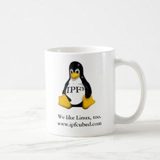 """IPF³ """"We Like Linux"""" Mug"""