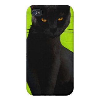 iPh4 Black Cat Covers For iPhone 4
