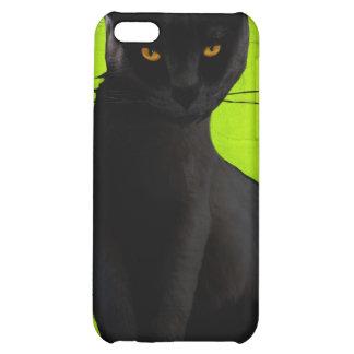 iPh4 Black Cat iPhone 5C Cases