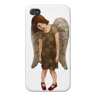 iPh4 Red Shoe Angel iPhone 4 Covers