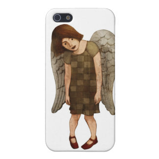 iPh4 Red Shoe Angel iPhone 5 Cases