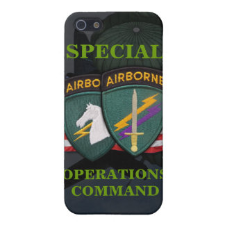 iph del socom de los asuntos civiles del comando d iPhone 5 funda