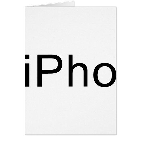 iPho Card