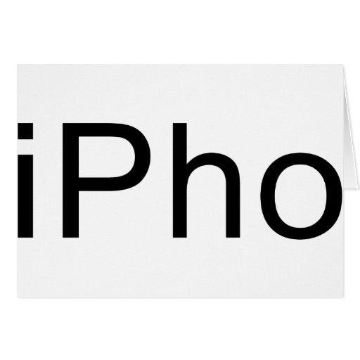 iPho Felicitación