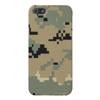 Iphon del modelo de Camo del arbolado de Digitaces iPhone 5 Protector