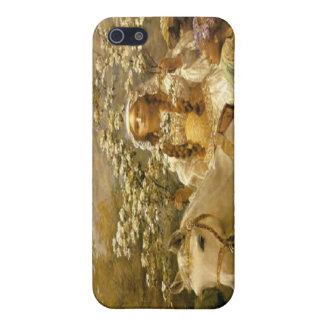 iPhon francés de señora Horse Speck Case del país iPhone 5 Cárcasa