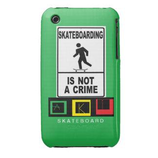 Iphon hull 3 AKI skateboard iPhone 3 Case-Mate Case