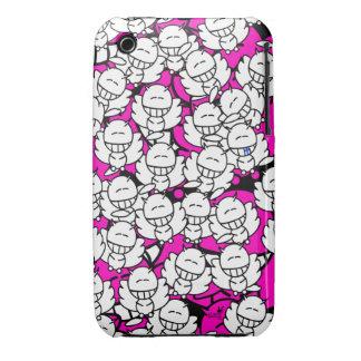Iphone3 - Alien Snowboards Angel - purple iPhone 3 Cases