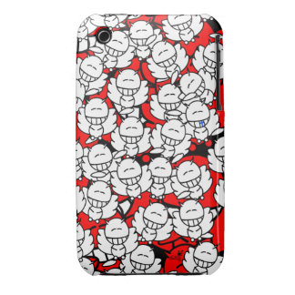 Iphone3 - Alien Snowboards Angel - red Case-Mate iPhone 3 Cases