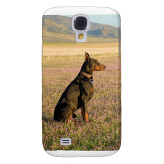 iphone3 cover Doberman Galaxy S4 Cover