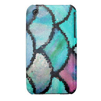 iphone3 mosaic abstract phone case iPhone 3 case