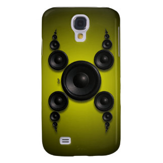 iPhone3 - X Factor yellow Samsung Galaxy S4 Cover