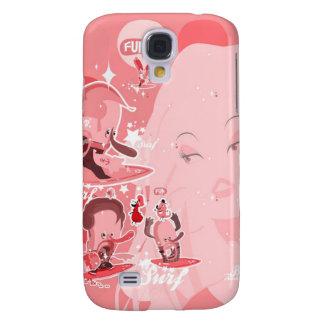 iPhone3g1 - Romance del Frenchy Funda Para Galaxy S4
