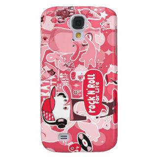 iPhone3g2 - Rock'n'roll for life Samsung Galaxy S4 Covers