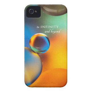 iphone4-4s al caso del iphone del infinito iPhone 4 Case-Mate coberturas