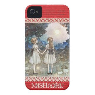 """iPhone4&4S case/MISHAORU """"SAYONARA NO MORI """" Case-Mate iPhone 4 Case"""