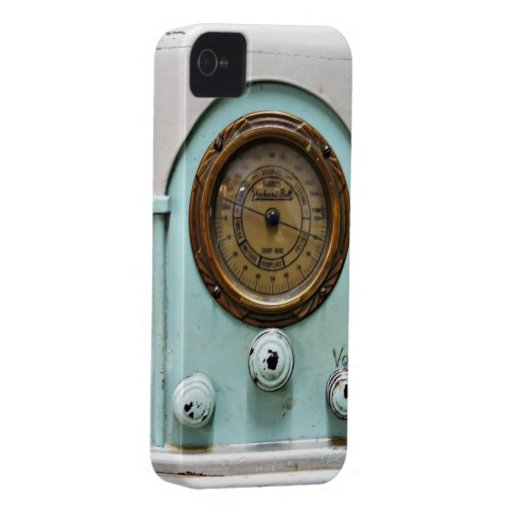 iphone4-4s case vintage short wave radio iPhone 4 cases