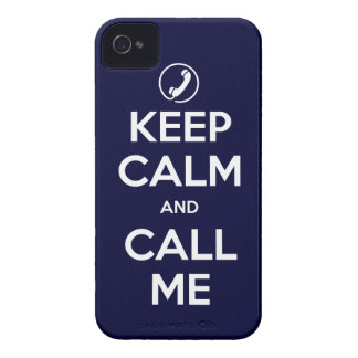 iPhone4/4S Choose Your Color Keep Calm and Call Me iPhone 4 Cover