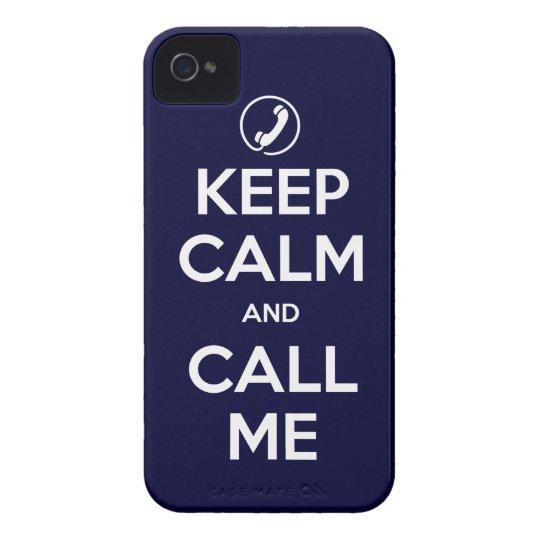 iPhone4/4S eligen su color guardan calma y me Funda Para iPhone 4 De Case-Mate
