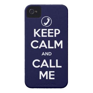iPhone4/4S eligen su color guardan calma y me llam iPhone 4 Case-Mate Protectores