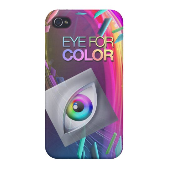 iPhone4/4s Eye for Color Basic Case