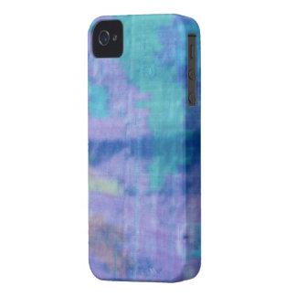 iphone4/4S-Textile Blue Silk iPhone 4 Case-Mate Case