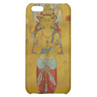 iPhone4 - 8 Arm Guan Yin Bamboo Background Case For iPhone 5C