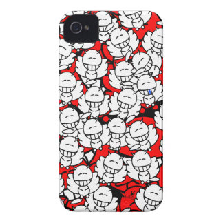 Iphone4 - Alien Snowboards Angel - red Case-Mate iPhone 4 Case