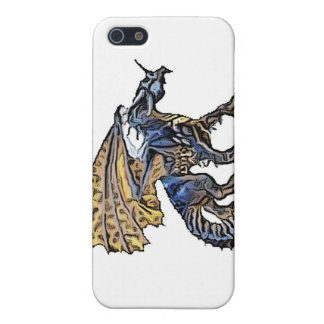 iPhone4-Blue Dragon Cover For iPhone SE/5/5s