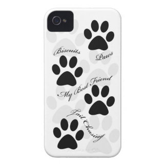iPhone4 case dog paws animals