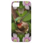 iphone4 case - hummingbird in bloom iPhone 5 cover