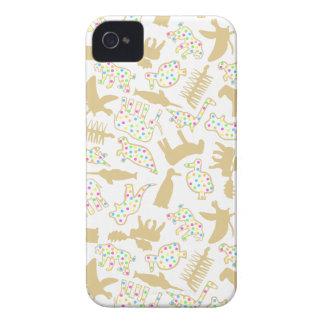 iPhone4 Case-Mate Extinct Animal Crackers iPhone 4 Case-Mate Case