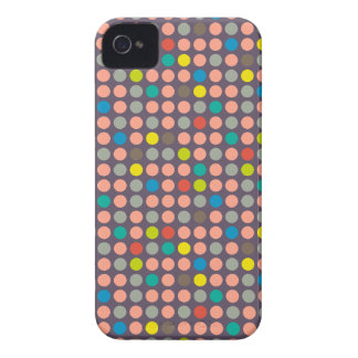 iPhone4 Case-Mate Game Dots Salmon