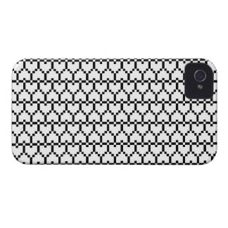 iPhone4 Case-Mate Pixel Hearts