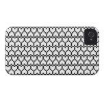 iPhone4 Case-Mate Pixel Hearts iPhone 4 Case