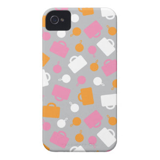 iPhone4 Case-Mate Retro Luggage Pink iPhone 4 Case