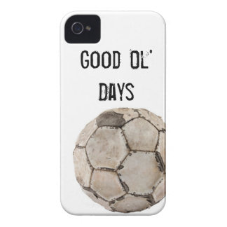 Iphone4 Cover Soccer Vintage Ball iPhone 4 Cover