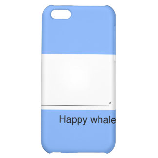 iPhone4 Happy Whale Case iPhone 5C Covers