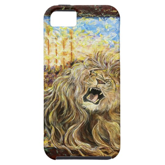iphone4 hard case: Lion of Judah: Day of the Lord iPhone SE/5/5s Case