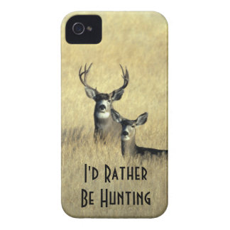 iPhone4 Masculine White Tail Mule Deer Buck Doe iPhone 4 Case