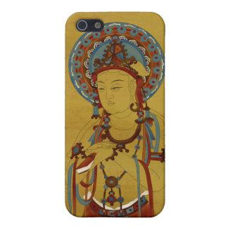 iPhone4 - Scripture Buddha Bamboo Background iPhone SE/5/5s Case