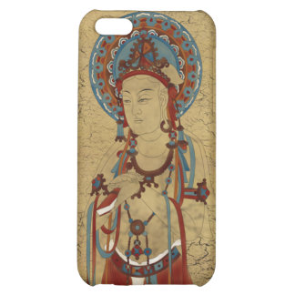 iPhone4 - Scripture Buddha Crackle Background iPhone 5C Cover