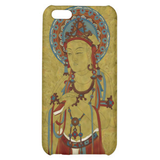 iPhone4 - Scripture Buddha Maple Leaf Background Cover For iPhone 5C