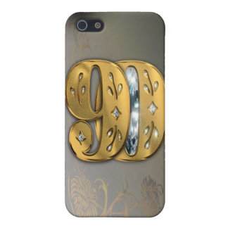 iPhone4 Victorian Gold Number 90 Speck Case iPhone 5 Cover