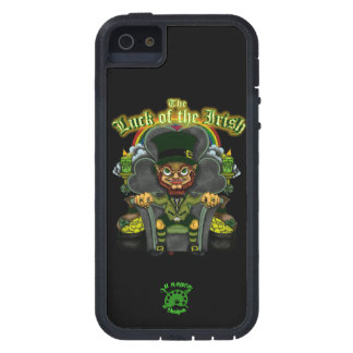 """iPhone5/5s Tough Extreme """"Luck of the Irish"""" Case Cover For iPhone 5"""