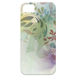 iPhone5 Abstract Watercolor Floral iPhone SE/5/5s Case