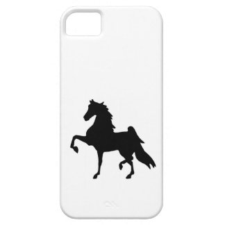 iphone5 Barely there case - Saddlebred Silhouette iPhone 5 Cover