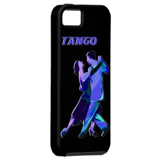 iphone5 blue tango couple iPhone SE/5/5s case